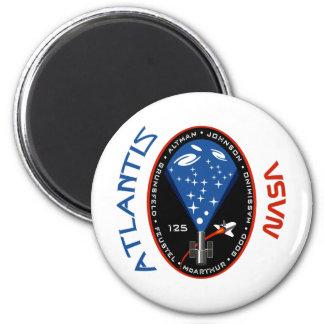 STS 125 la Atlántida Imán Redondo 5 Cm