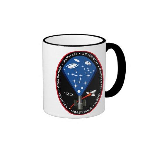 STS 125 Mission Patch Coffee Mug