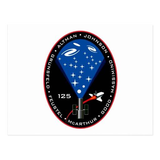 STS-125 POSTALES