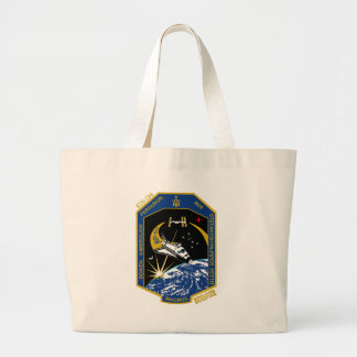 STS 126 Endeavour Large Tote Bag