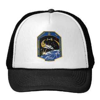 STS 126 Mission Patch Trucker Hat
