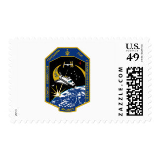 STS 126 Mission Patch Postage