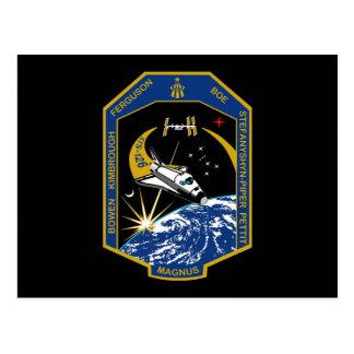 STS 126 Mission Patch Postcard