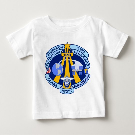 STS-128 Mission Patch Baby T-Shirt