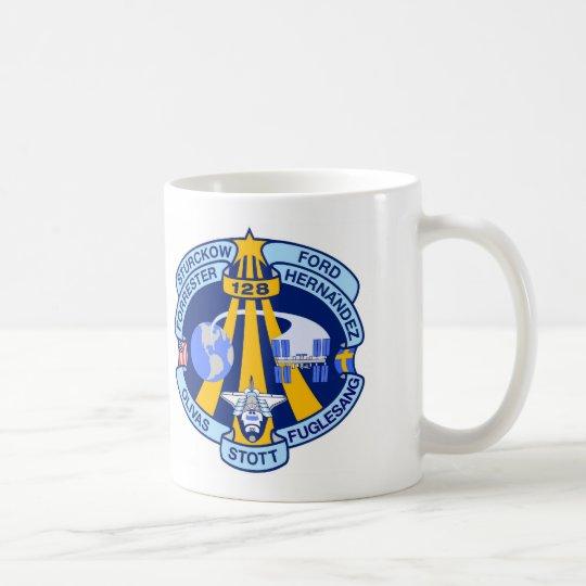 STS-128 Mission Patch Coffee Mug