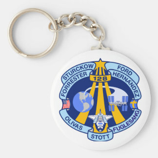 STS-128 Mission Patch Keychain