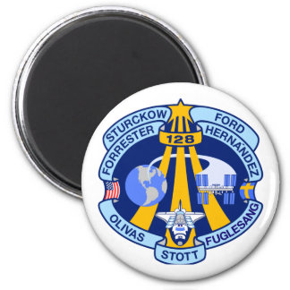STS-128 Mission Patch Magnet