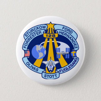 STS-128 Mission Patch Pinback Button