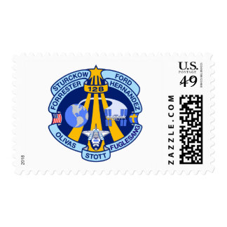 STS-128 Mission Patch Postage