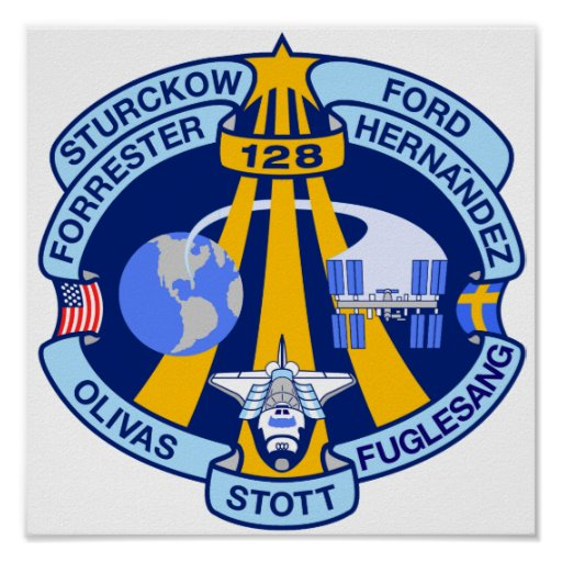 STS-128 Mission Patch Poster