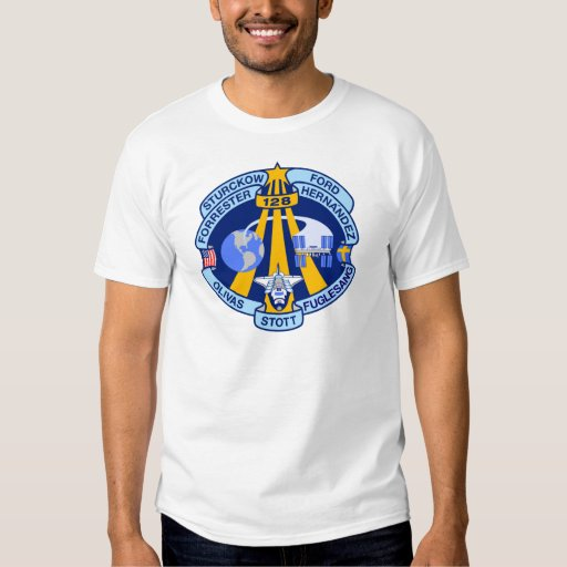 STS-128 Mission Patch Tshirts