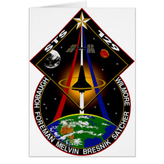 STS 129 patch Card