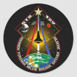 STS 129 PEGATINA REDONDA