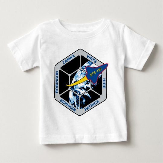 STS 130 Endeavour Baby T-Shirt