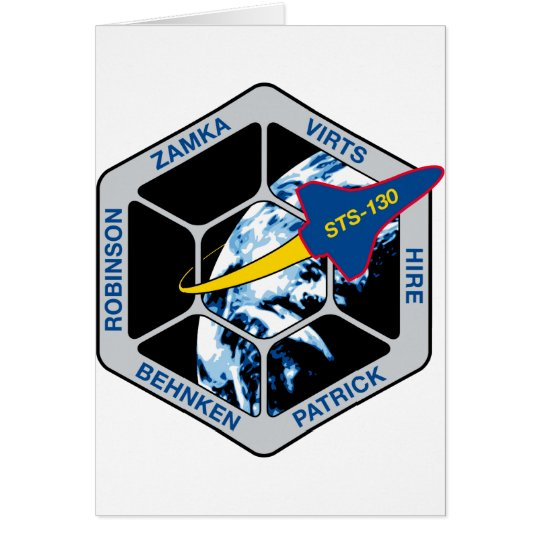 STS 130 Endeavour Card