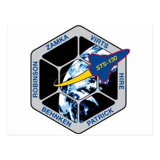 STS 130 Endeavour Postcard