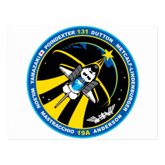 STS 131 Discovery Post Card
