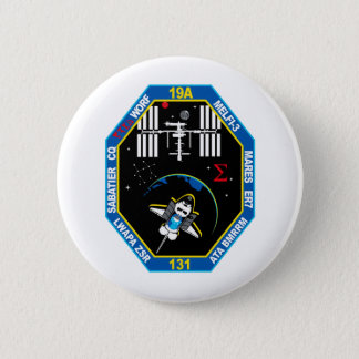 STS 131 Payload Group Patch Pinback Button