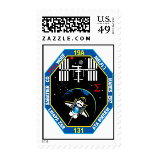 STS 131 Payload Group Patch Postage
