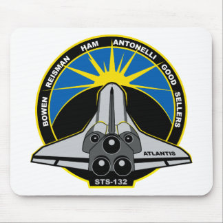 STS 132 Atlantis Mouse Pad