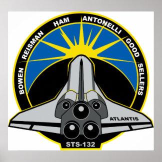 STS 132 Atlantis Poster