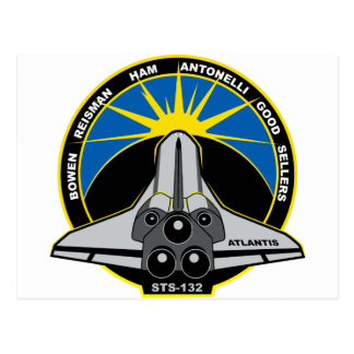 STS 132 la Atlántida Postales