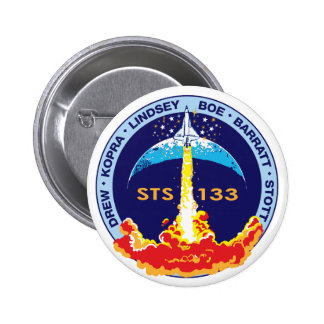STS-133 Discovery Pins