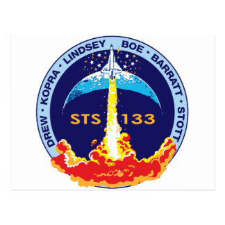 STS-133 Discovery Postcard