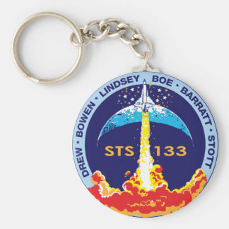STS-133 mission patch Keychain