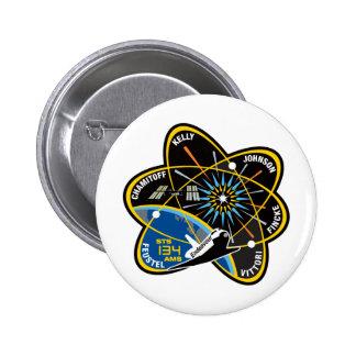 STS 134 Endeavour Button