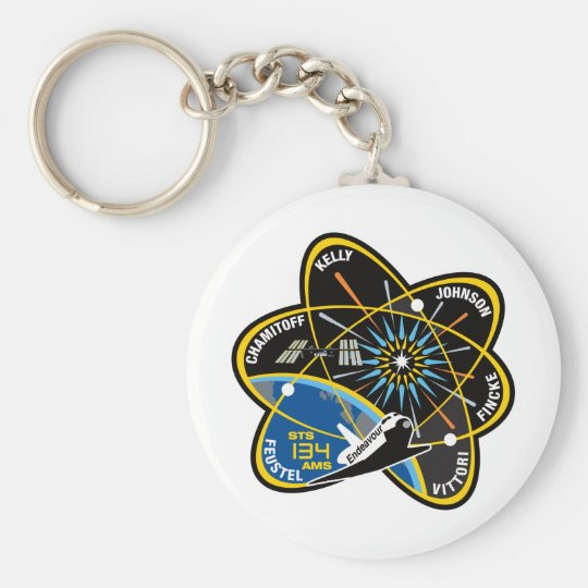 STS 134 Endeavour Keychain