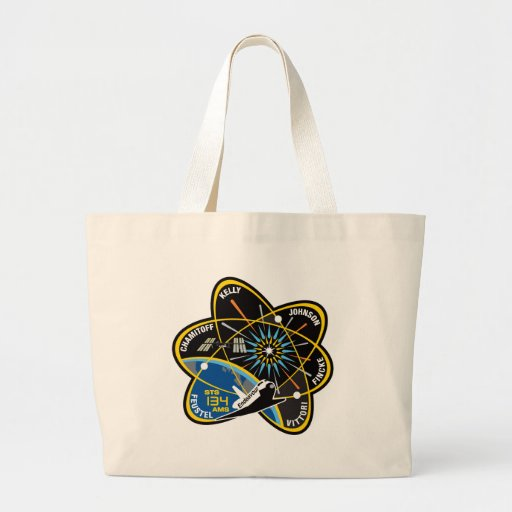 STS 134 Endeavour Large Tote Bag
