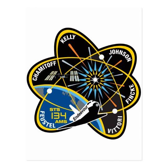 STS 134 Endeavour Postcard
