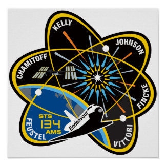 STS 134 Endeavour Print