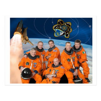 STS-134_Official_Crew_Photo Postcard
