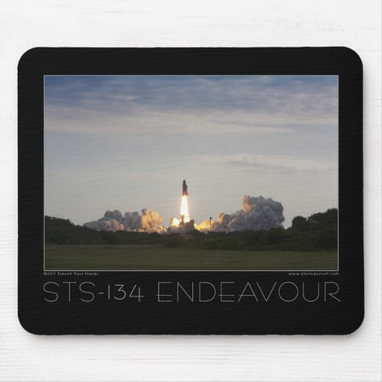 STS-134 Space Shuttle Endeavour Mouse Pad