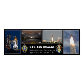 STS-135 Atlantis Final Flight Poster