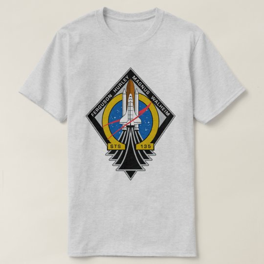 STS 135 Atlantis Final Flight T-Shirt
