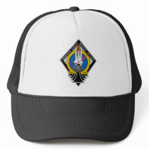 STS 135 Atlantis Final Flight Trucker Hat