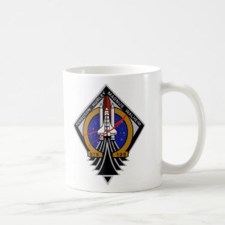 STS 135 Last Flight of Atlantis Classic White Coffee Mug