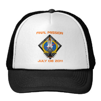 STS-135 Patch, Final Mission, July 08 2011 Trucker Hat