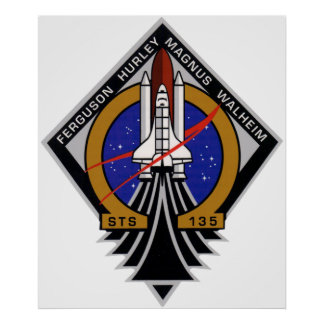 STS-135 POSTER
