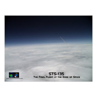 STS-135: The Final Flight at the Edge of Space Poster