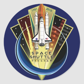 STS 135 The Final Flight Stickers
