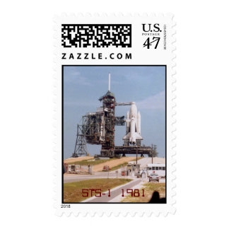 STS-1 1981 postage