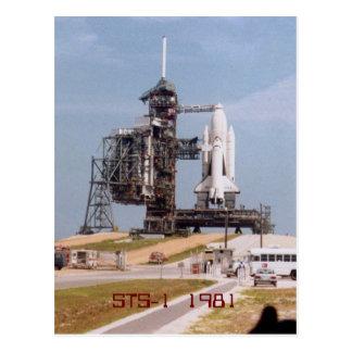 STS-1 1981 postcard