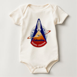 STS 1 Columbia:  Young and Crippen Baby Bodysuit