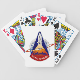 STS 1 Columbia: Young and Crippen Bicycle Playing Cards