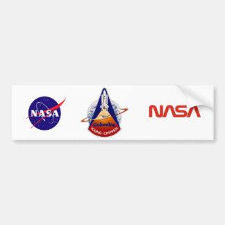 STS 1 Columbia: Young and Crippen Car Bumper Sticker
