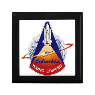 STS 1 Columbia: Young and Crippen Jewelry Box